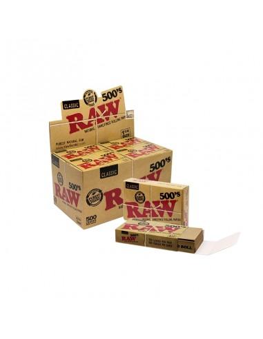 Papeles Raw 1 1/4 - 500 Hojas - Caja de 20