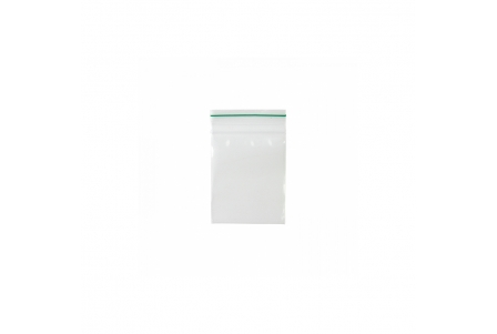 ZipLock Baggies Green Line 55 x 65 mm - 0,06 mm - 1000 units