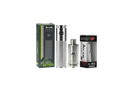 Special Pack Atmos Greedy M2 Heating Attachment & Smart 100W Battery 1800mAh
