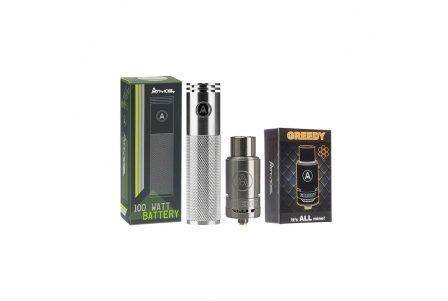 Special Pack Atmos Greedy Heating Attachment & Smart 100W Battery 1800mAh