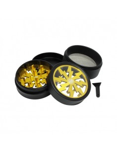 4 Part Master Grinder 55mm - Yellow