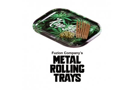 Metal Rolling Trays - Pack of 20 - Mixed Designs and Sizes