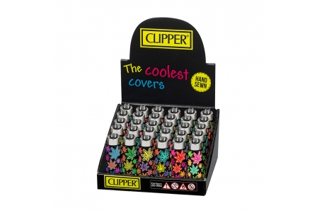 Funky Cover CLIPPER Leaves 18 - Display of 30