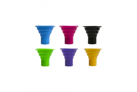 Silicone Hygienic Bong Mouthpiece - Display of 24