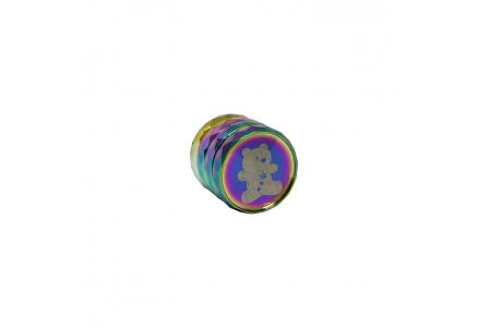 4 Part Bear Grinder - Rainbow