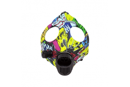 Designer Mask with Assorted Colour Pipe