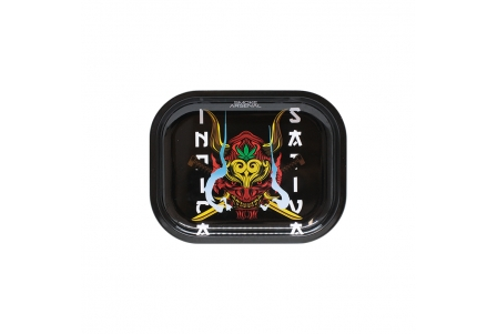 Metal Rolling Tray - Stoned Warrior - Small 18x14cm