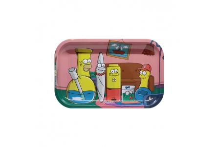 Metal Rolling Tray - Simpbongs - Medium 27,5x17,5cm