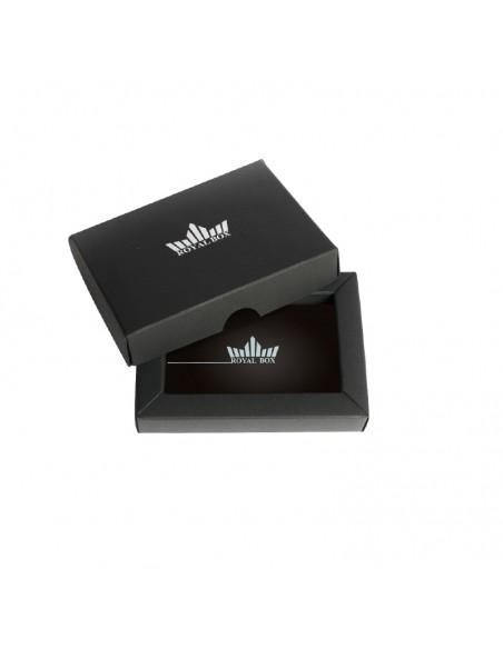 Royal Box with Aluminium Pipe - Matte Black