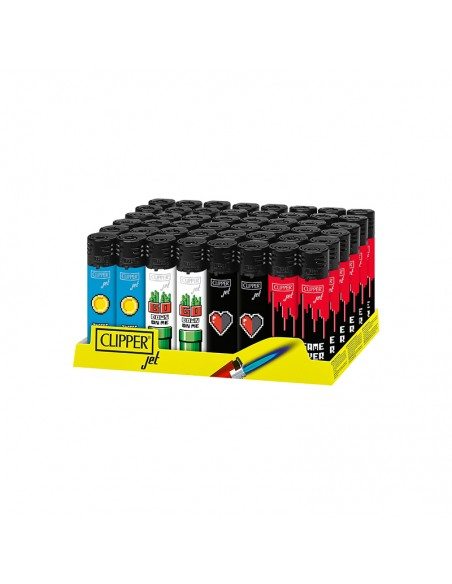 Clipper Jet Flame - Games - Display of 48