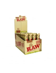 Raw Cones 1 1/4 - Organic Hemp - 32 Units of 6 Cones