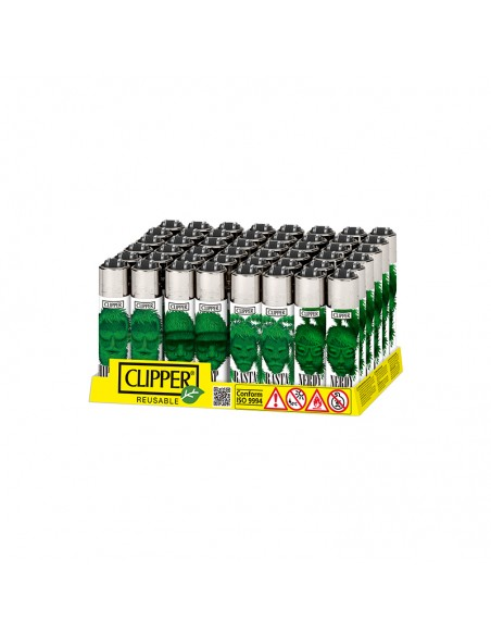 Clipper Micro - Weed Silhouettes - Display of 48