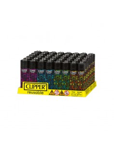 Clipper Classic - Fluo Leaves 3 - Display of 48